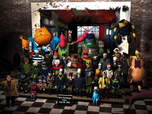 Grim Fandango's Cast