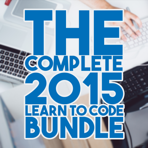 The Complete 2015 Learn to Code Bundle, $59