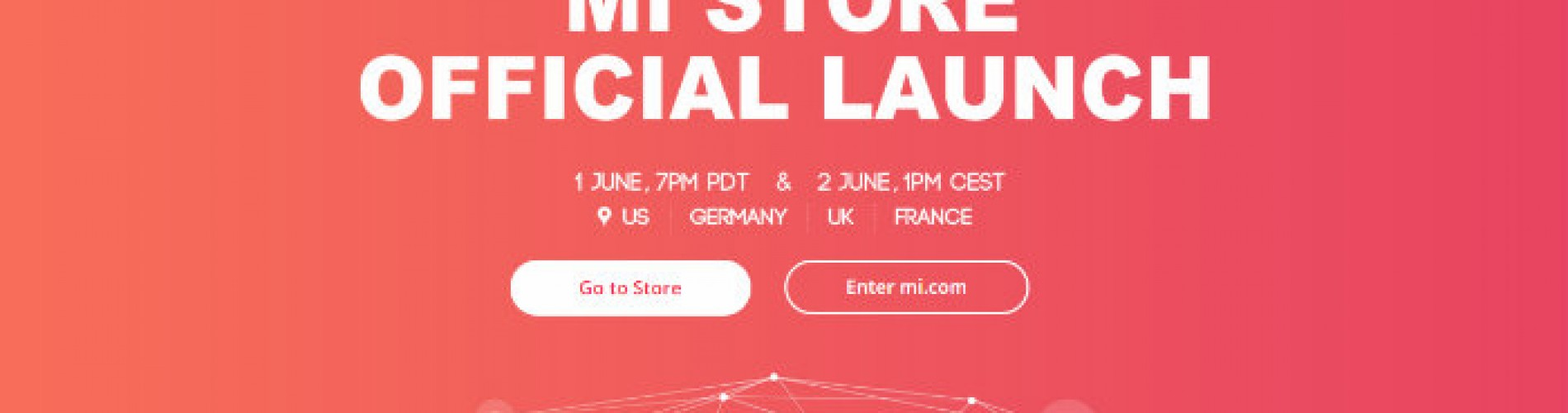XIaomi Mi Store to officially launch June 1st and 2nd