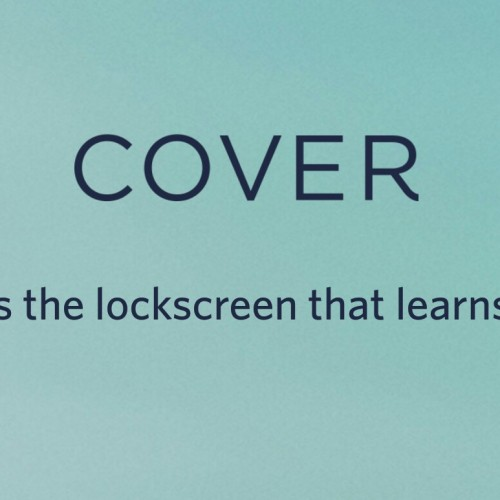 Optimize your lockscreen with Cover (Monday Makeover)