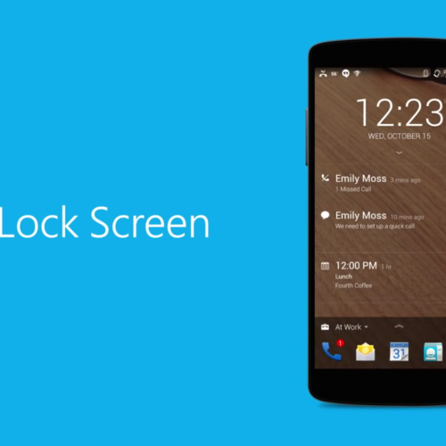 Prioritize your lockscreen with Next Lock Screen (Monday Makeover)