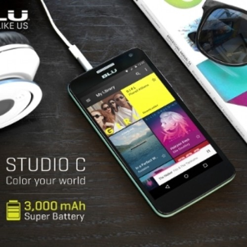 Blu releases Studio C 99 dollar Android smartphone on Amazon.com