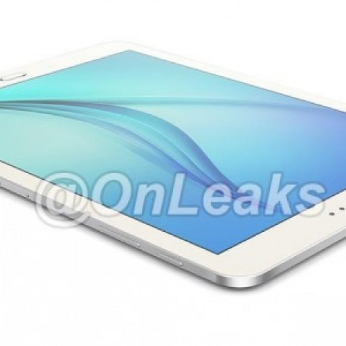 Samsung Galaxy Tab S2 images leaked revealing metal frame, home button