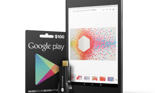 The Google Gadget Giveaway