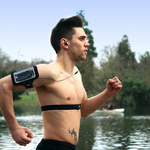 iMaze Fitness Heart Rate Strap & Armband Combo, $19.99