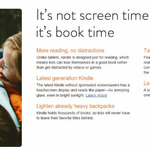 Amazon launches Kindle for Kids bundle just in time for Summer