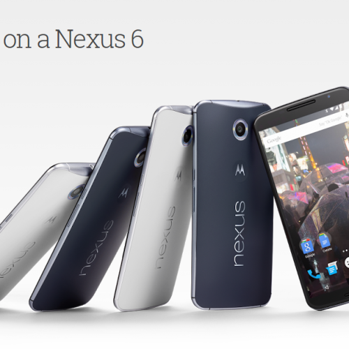 "Google Play Store ""Dads and Grads"" sale, $150 off the Nexus 6 and Free Shipping"