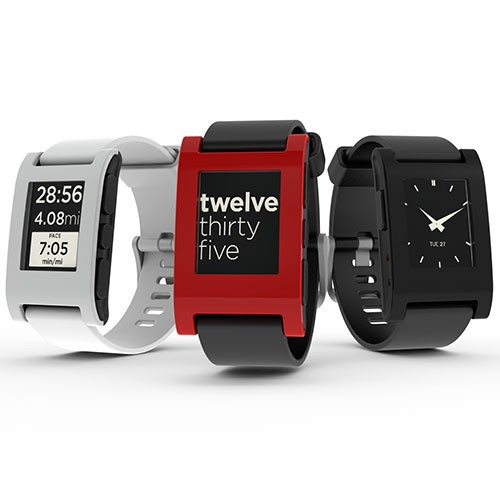 Save 10% off Pebble Smartwatch at MakerShed.com!