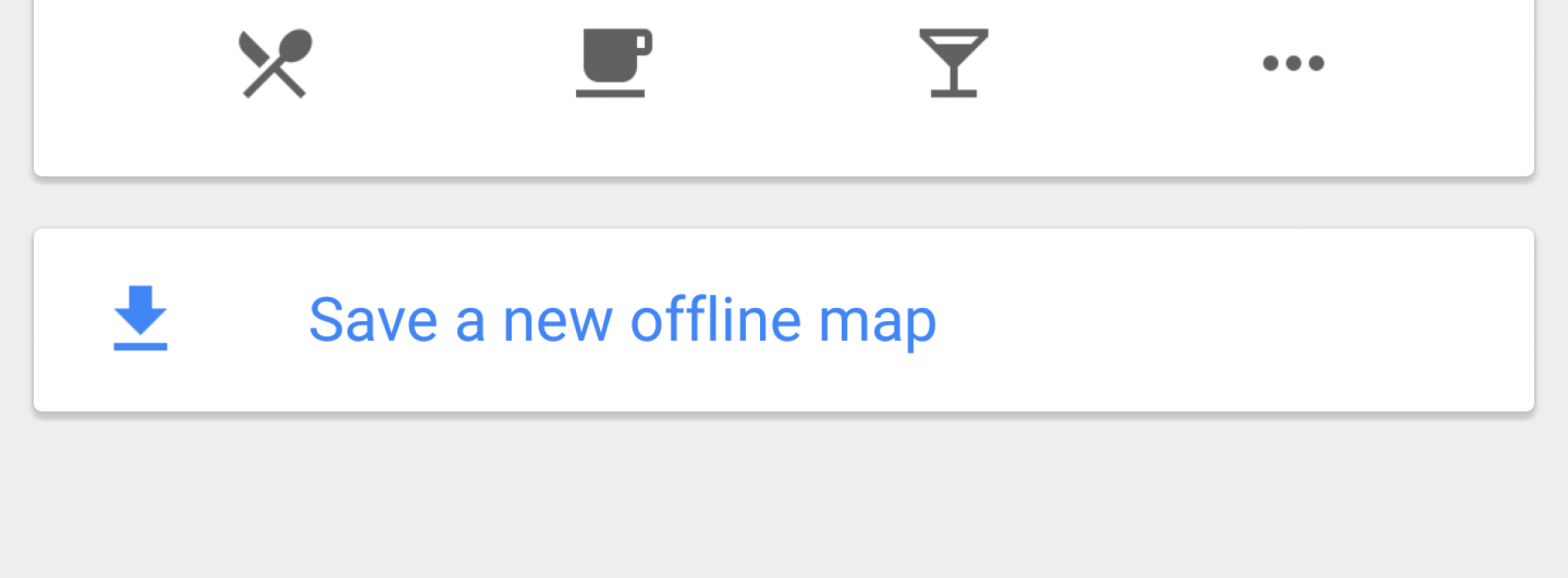 how to download offline google maps to android