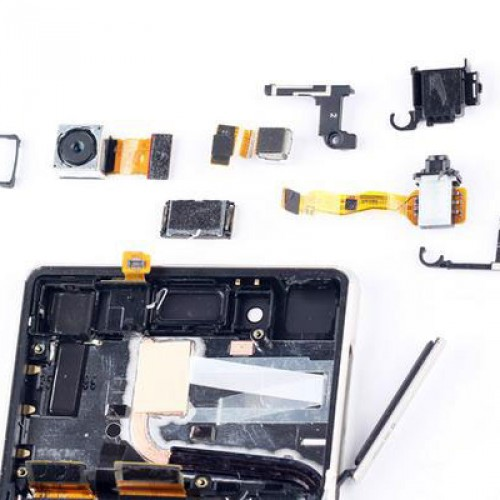 Sony Xperia Z4 gets torn down to show pretty much the same story