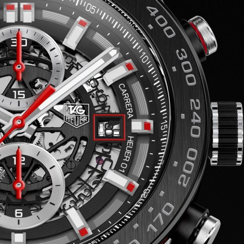 Tag Heuer Carrera Wearable 01 named as first luxury smartwatch