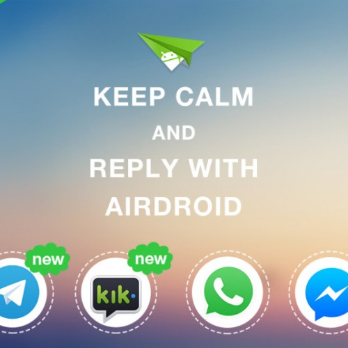 AirDroid update brings quick reply support