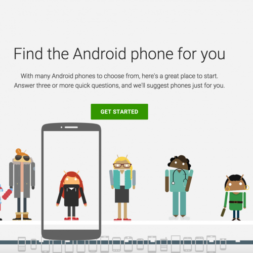 Google offers to help select your next Android phone