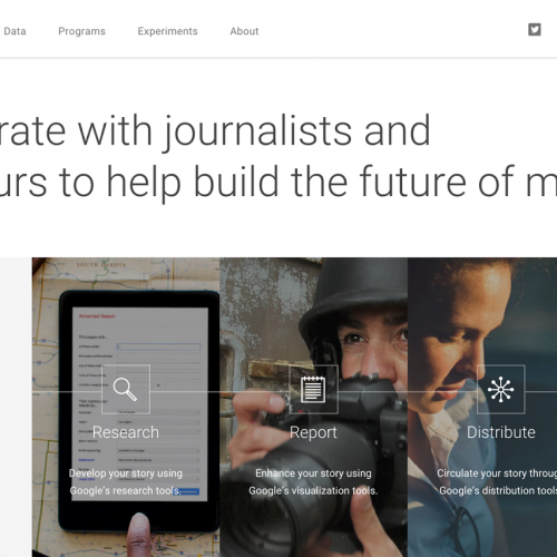 Google News Lab:  A way for journalists to collaborate