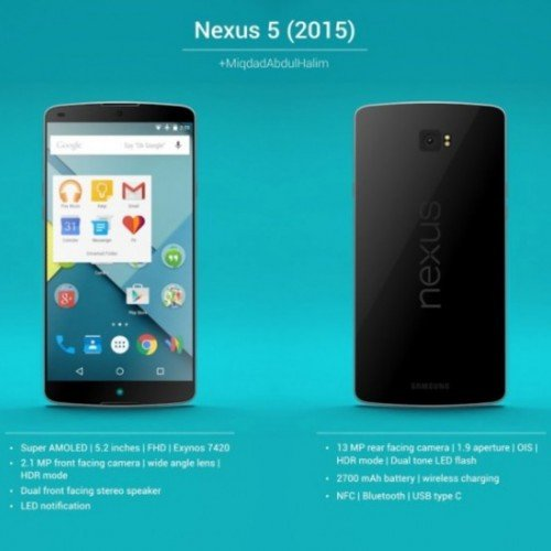 The new Nexus 5 (2015) and Android M will debut together, report says
