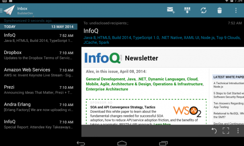 MailDroid provides a feature-rich email experience – App Review