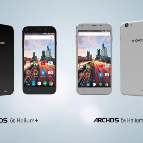 Archos unveils new Helium Plus smartphones