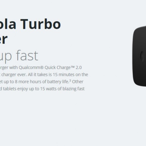 Motorola Turbo Charger on sale for $9.99 re-certified or $14.99 new