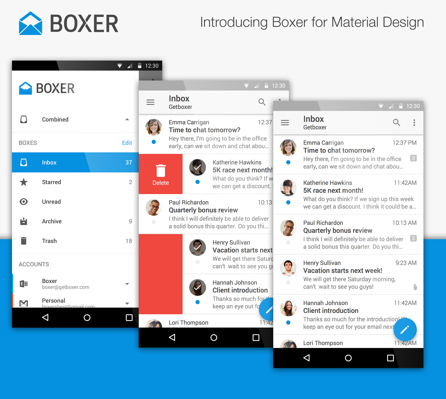 Cyanogen's email client Boxer gains material design in new update