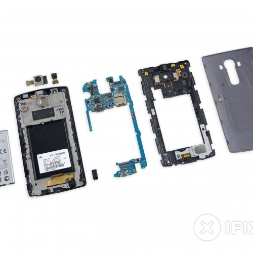 The LG G4 receives a great repairability score from iFixit