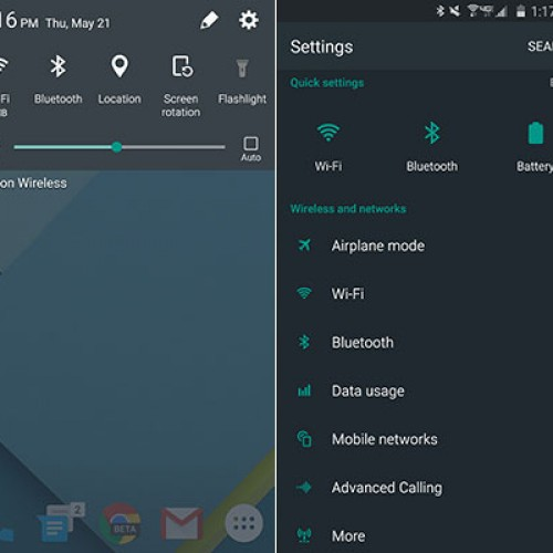 Samsung Galaxy S6 receives Material Design theme