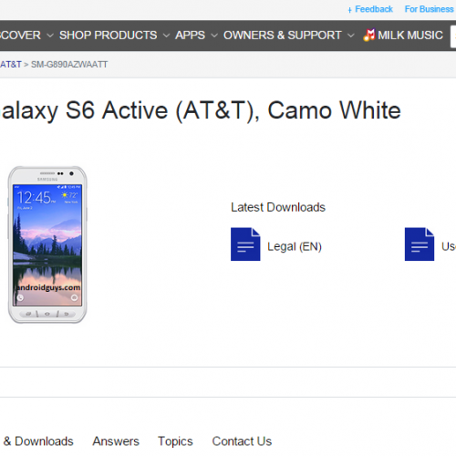 Samsung Galaxy S6 Active specs confirmed