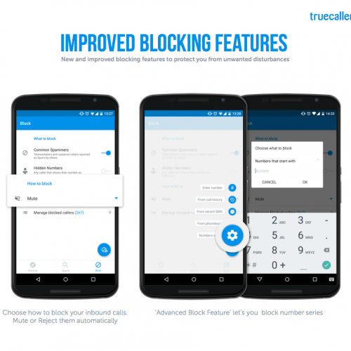 Truecaller for Android now allows international blocking