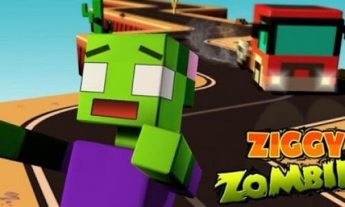 Ziggy Zombies: zig-zag roads of fun (app review)