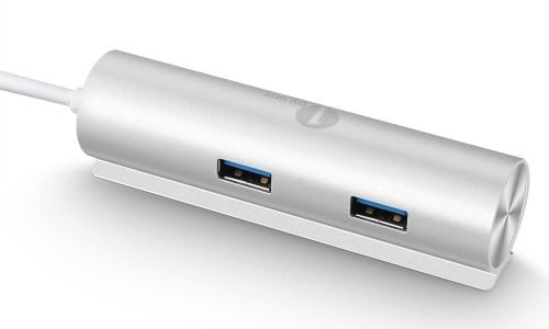1byone 4-port USB 3.0 aluminium hub [Review]