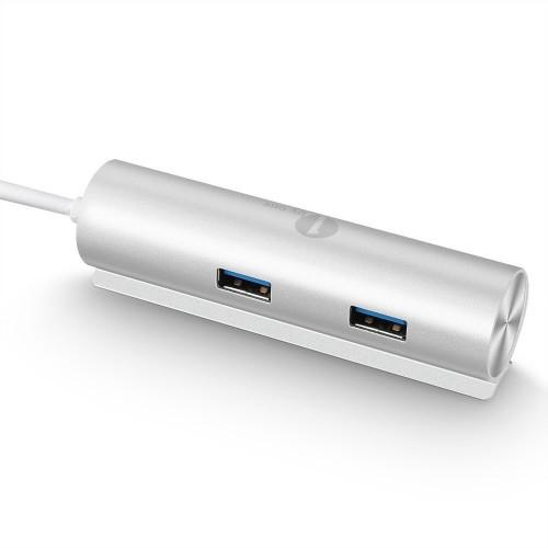 1byone 4-port USB 3.0 aluminium hub [Review]