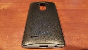 LG G4 case Moshi iGlaze Napa back