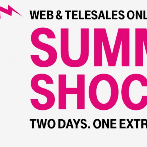 T-Mobile's Summer Shocker 2 day sale starts now