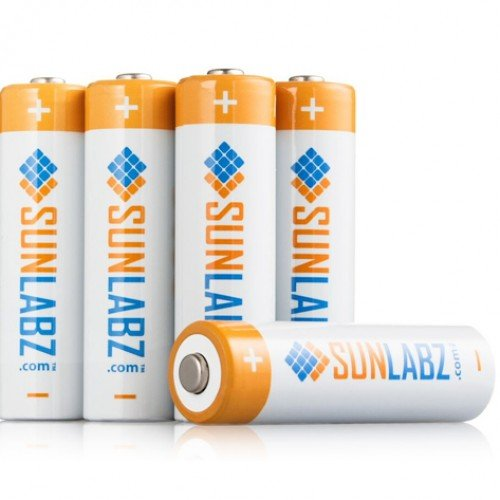 SunLabz Rechargeable AA Battery Bundle