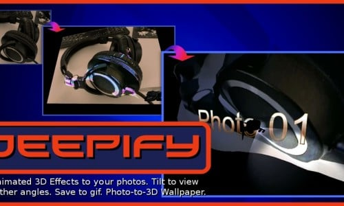 Deepify: Photo-to-3D Wallpaper (app review)