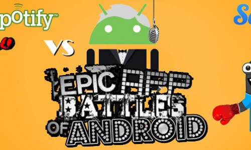 Epic App Battles of Android: Spotify vs. Songza