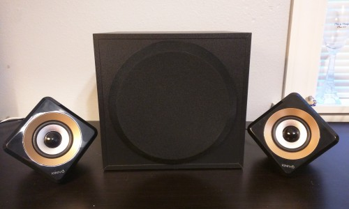 Kinivo M2 Bluetooth 2.1 Speaker System [Review]