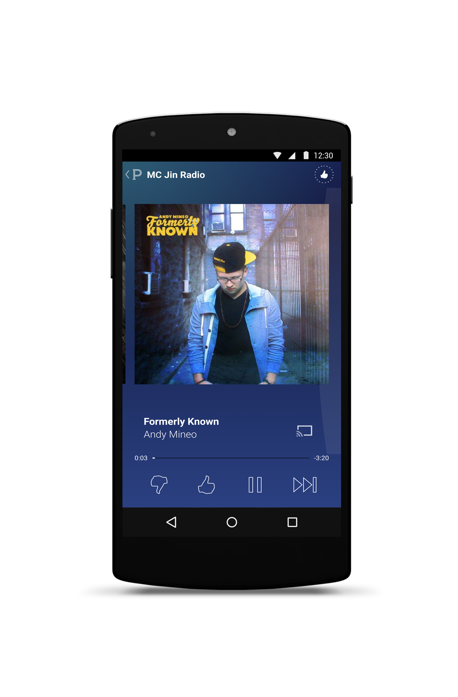 Phone Pandora App For Android Phone epic app battles of android pandora vs slacker androidguys andy mineo now playing