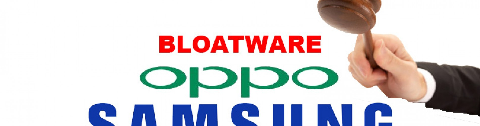 Samsung and Oppo challenged in court over bloatware