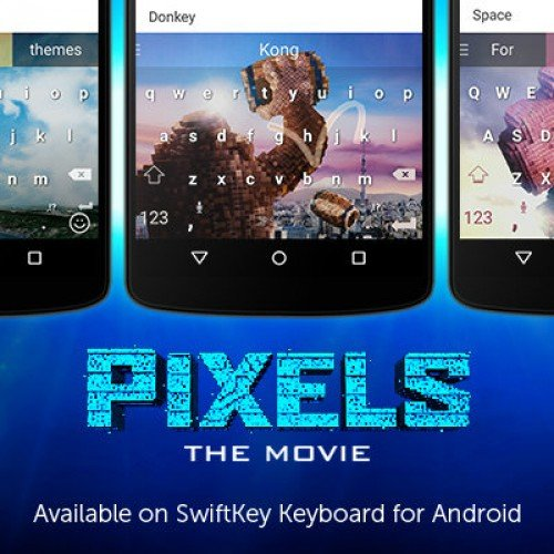 SwiftKey releases new themes in anticipation for PIXELS