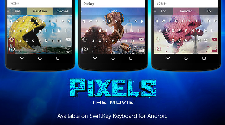 SwiftKey PIXELS Featured Image