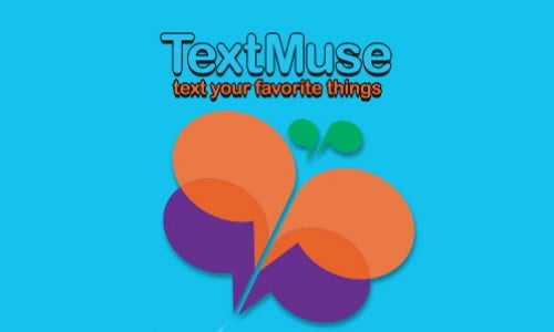 TextMuse an aMusing way to text your friends (App Review)