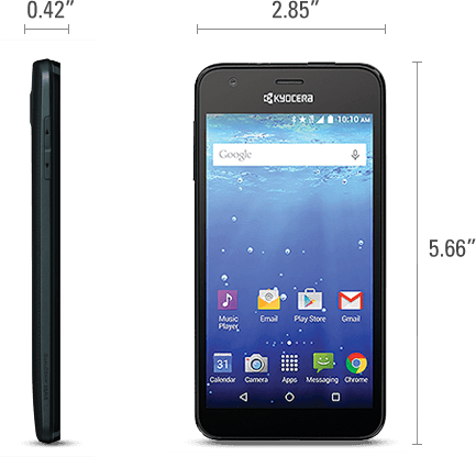 Kyocera Hydro Wave Splashes Onto T Mobile And Metropcs