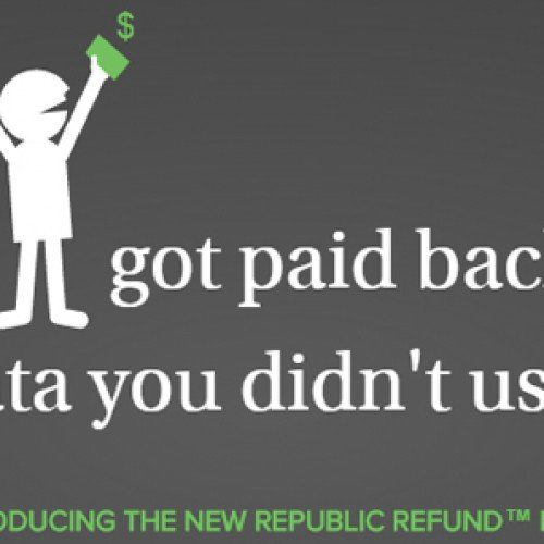 Republic Wireless will refund you for unused data