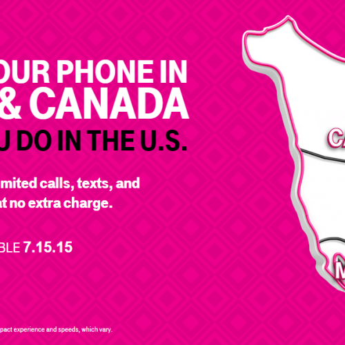T-Mobile expands Simple Choice coverage to Mexico and Canada