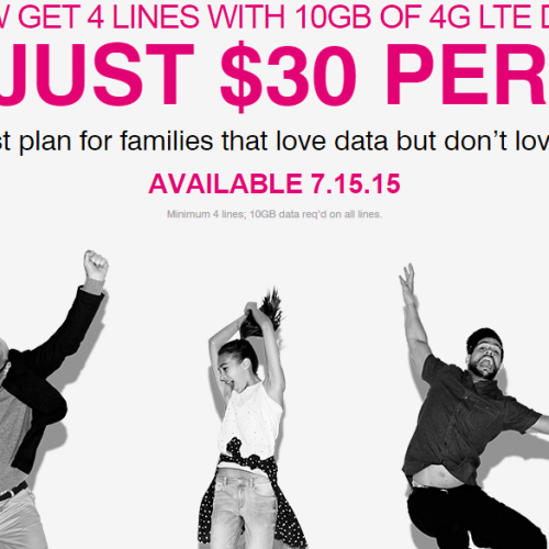 T-Mobile is amping the deal for family plans