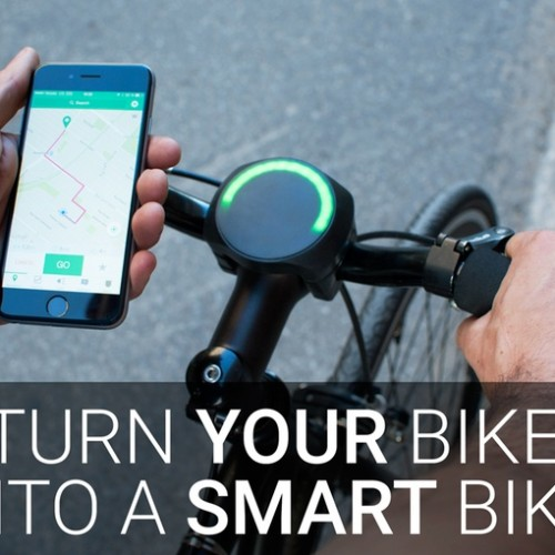 SmartHalo turns any bike into a smart bike