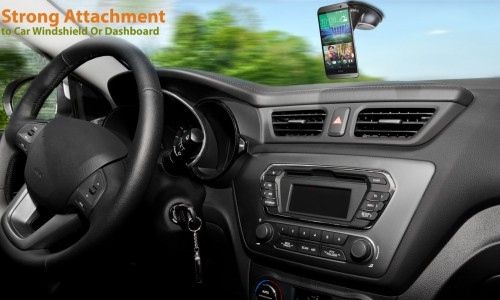 TrekkerTech's PhoneRider keeps your phone safe while driving