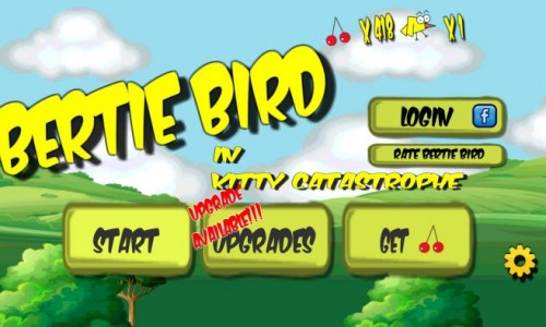 Avoid the cats and collect the cherries with Bertie Bird (App Review)