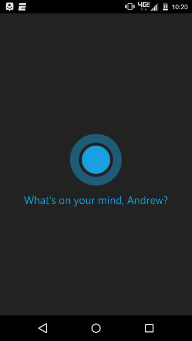 Activate cortana by saying hey cortana or anything like that