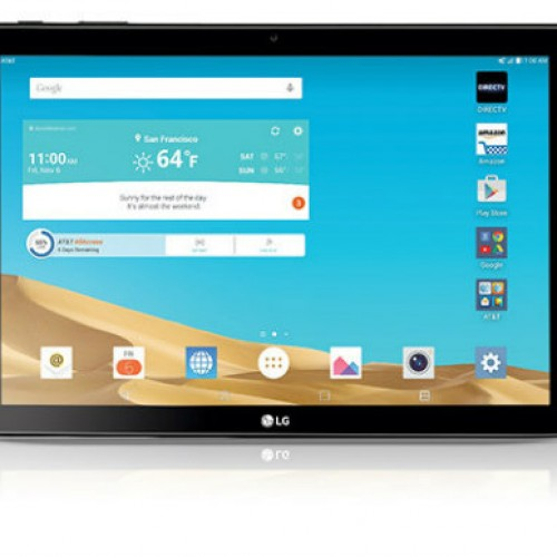 AT&T adds new LG G Pad X to the lineup with DirecTV app in-tow